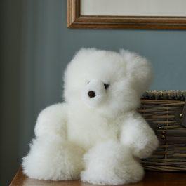 Classic White Alpaca Fur Teddy