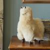 Baby Alpaca Fur Toy - Champagne