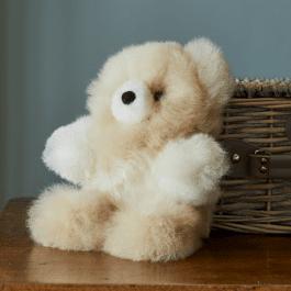 Classic Marbled Alpaca Fur Teddy