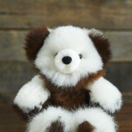 Classic Variegated Baby Alpaca Fur Teddy