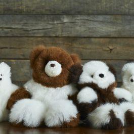 Super Luxe Cinnamon Alpaca Fur Teddy – Petite