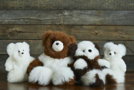 Super Luxe Cinnamon Alpaca Fur Teddy – Petit