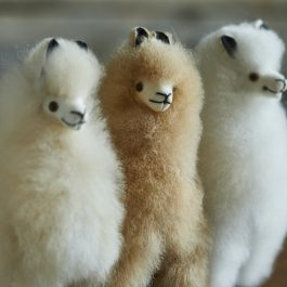 Mini Alpaca Fur Toy