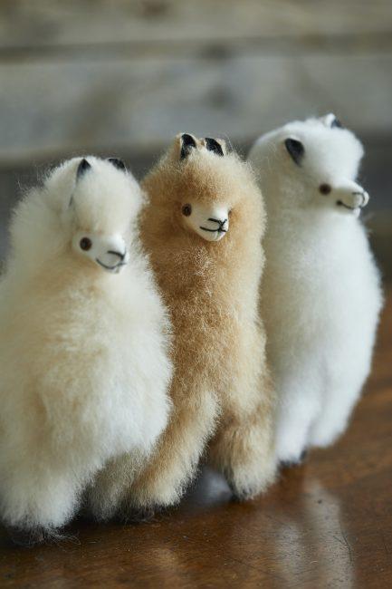 Mini Alpaca Fur Toy